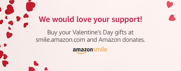 Amazon Banner for Valentines Day 2018